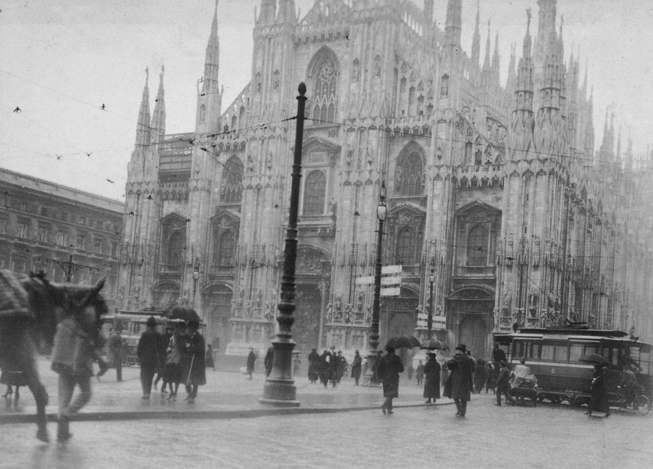 Milan Cathedral, Italy, early 20th century