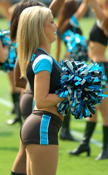 carolina panthers cheerleader 373 600 sexy pro. Black Bedroom Furniture Sets. Home Design Ideas