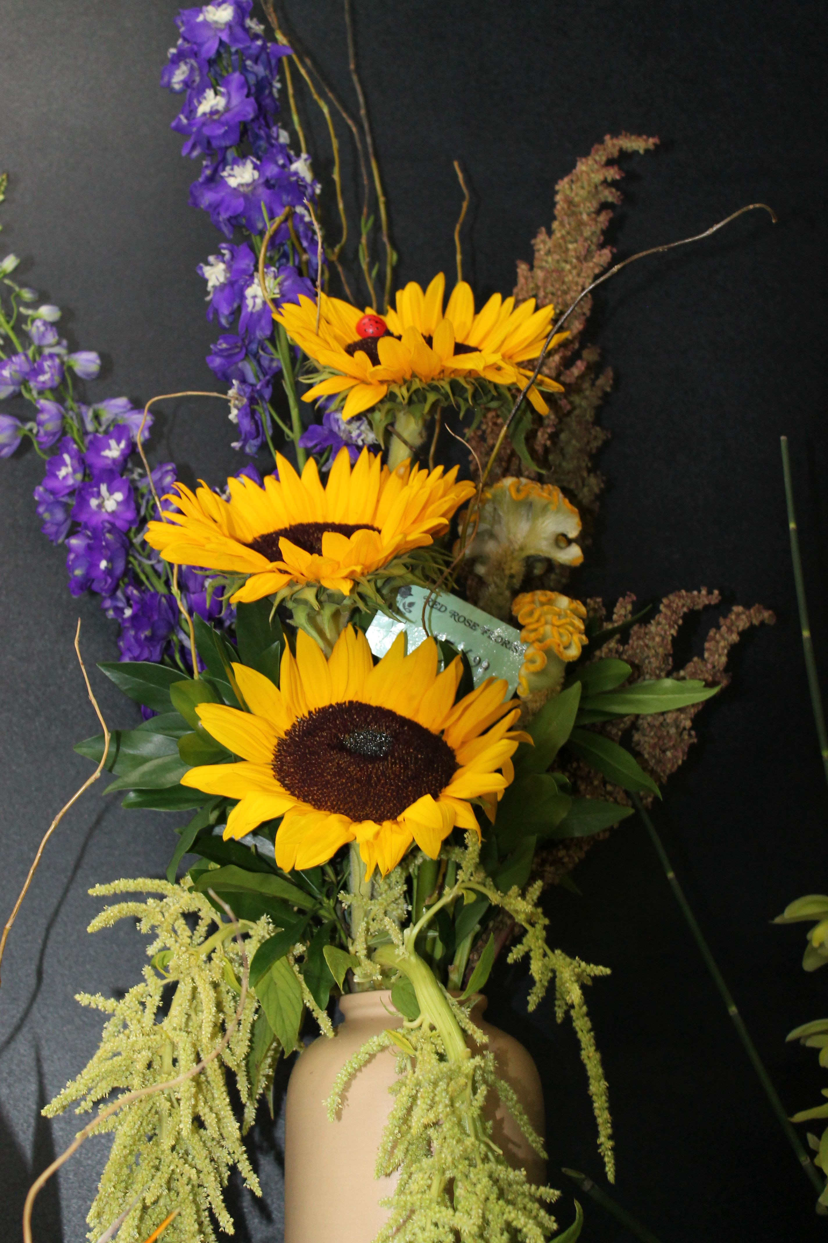 Rustic Sunflower Arrangement Flower delivery