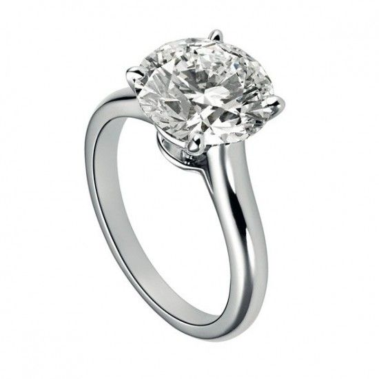 cartier 1895 solitaire diamond rings in 2019 round