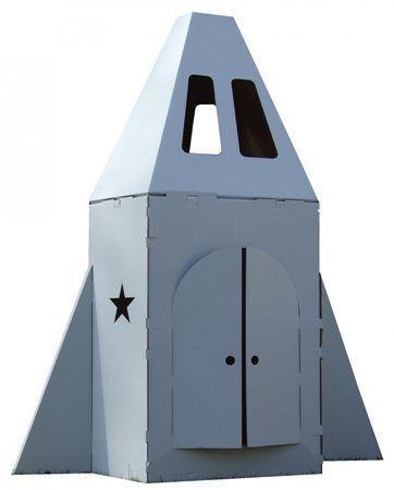 Cardboard rocket ship  Cardboard rocket ship