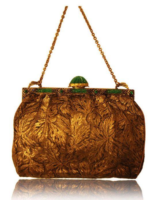 Vintage brocade bag