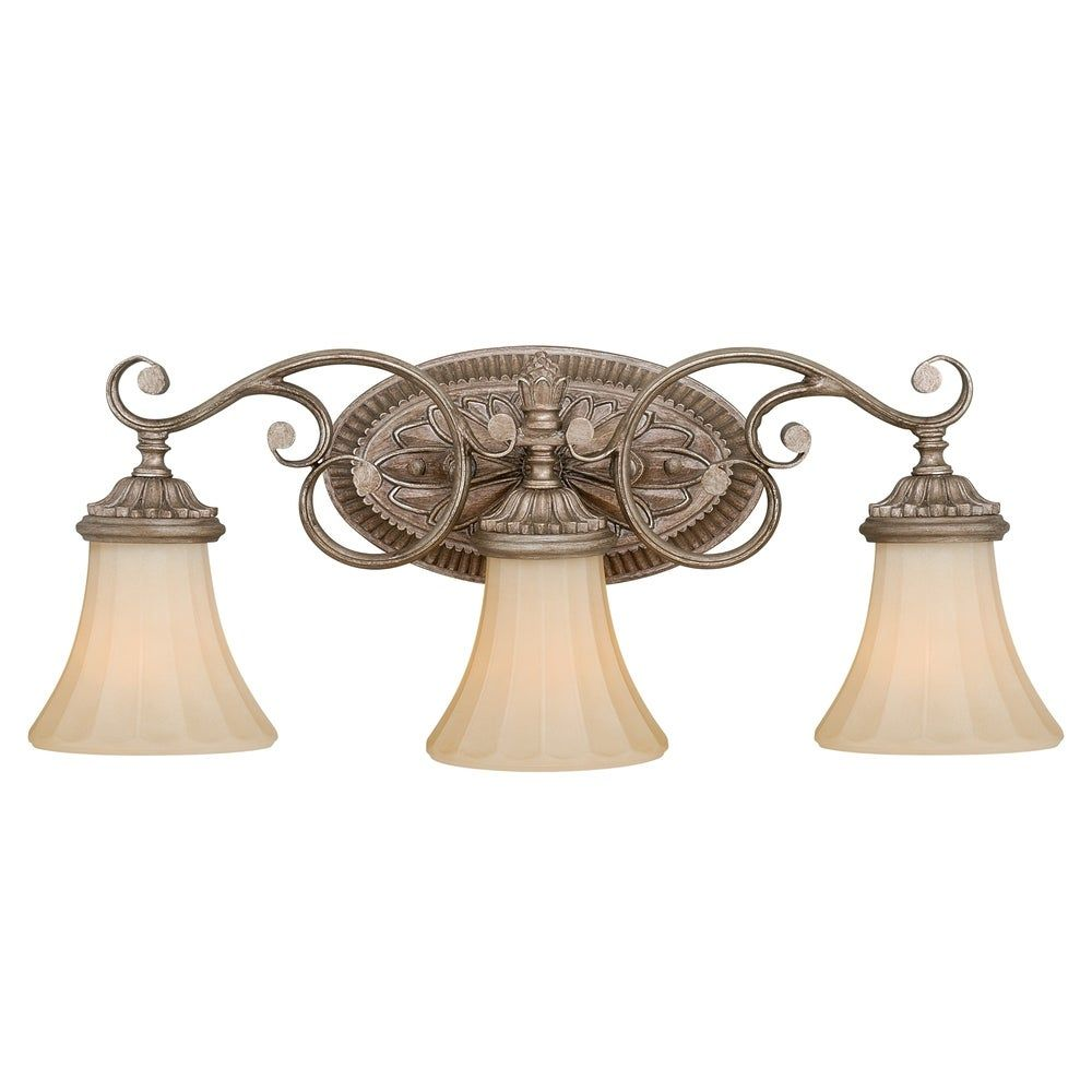 Photo of Avenant 3 Light Bronze Bathroom Furniture – 23 inches W x 10.5 inches H x 6.5 inches T.