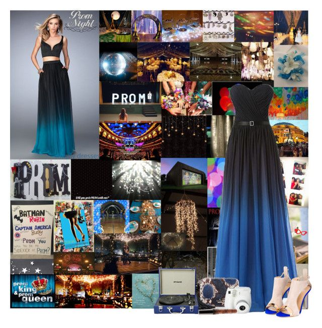 """""""Prom 2016"""" by cheyenne-muter ❤ liked on Polyvore featuring Modern Vintage, Giuseppe Zanotti, Kate Spade, Polaroid, PromDress and prom2016"""