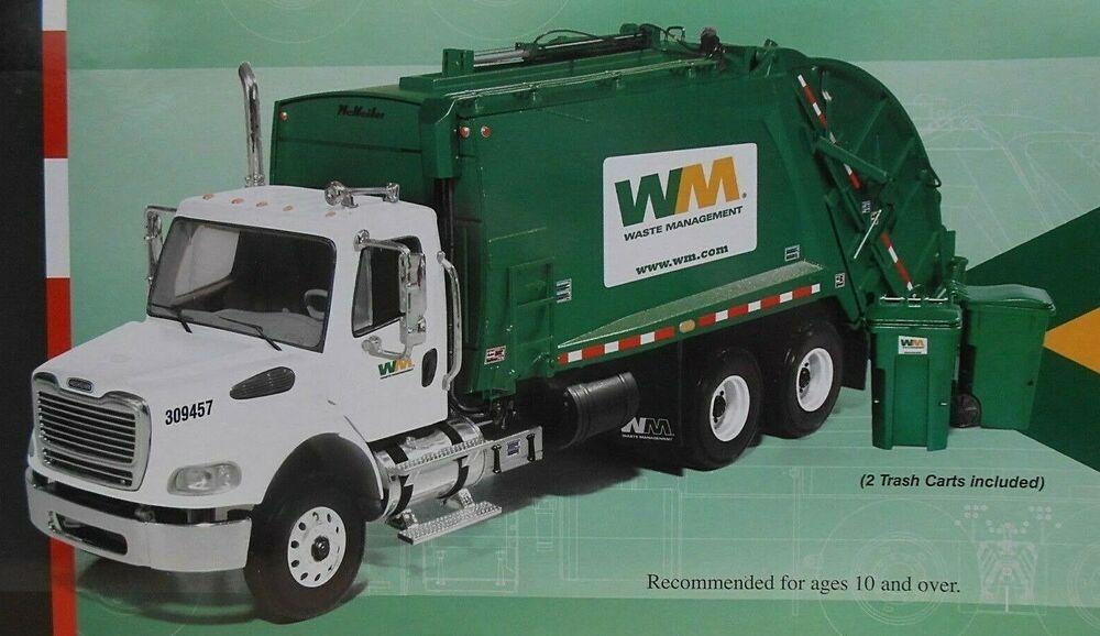 Ebay Sponsored Waste Management Rear End Loader W Carts By 1st
