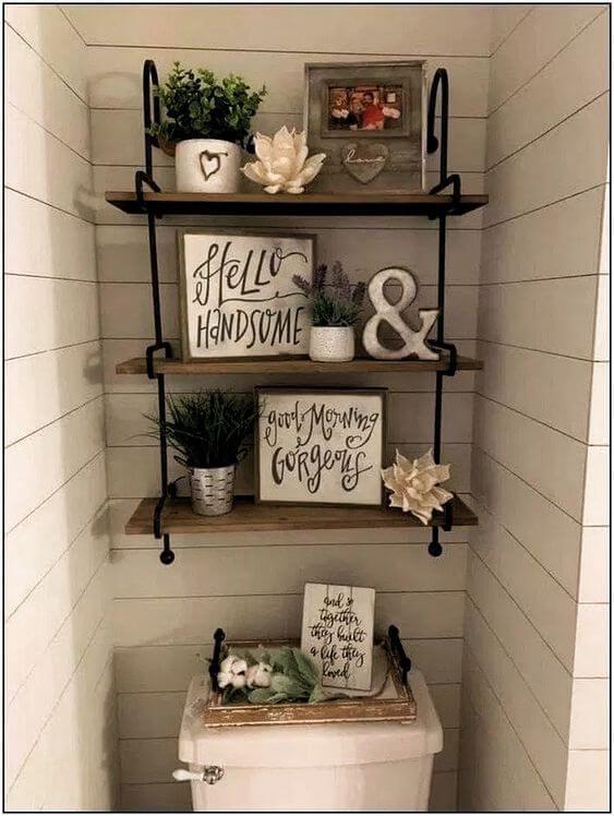 Photo of Quadros para Banheiro: +53 Modelos Decorativos para Banheiro e Lavabo