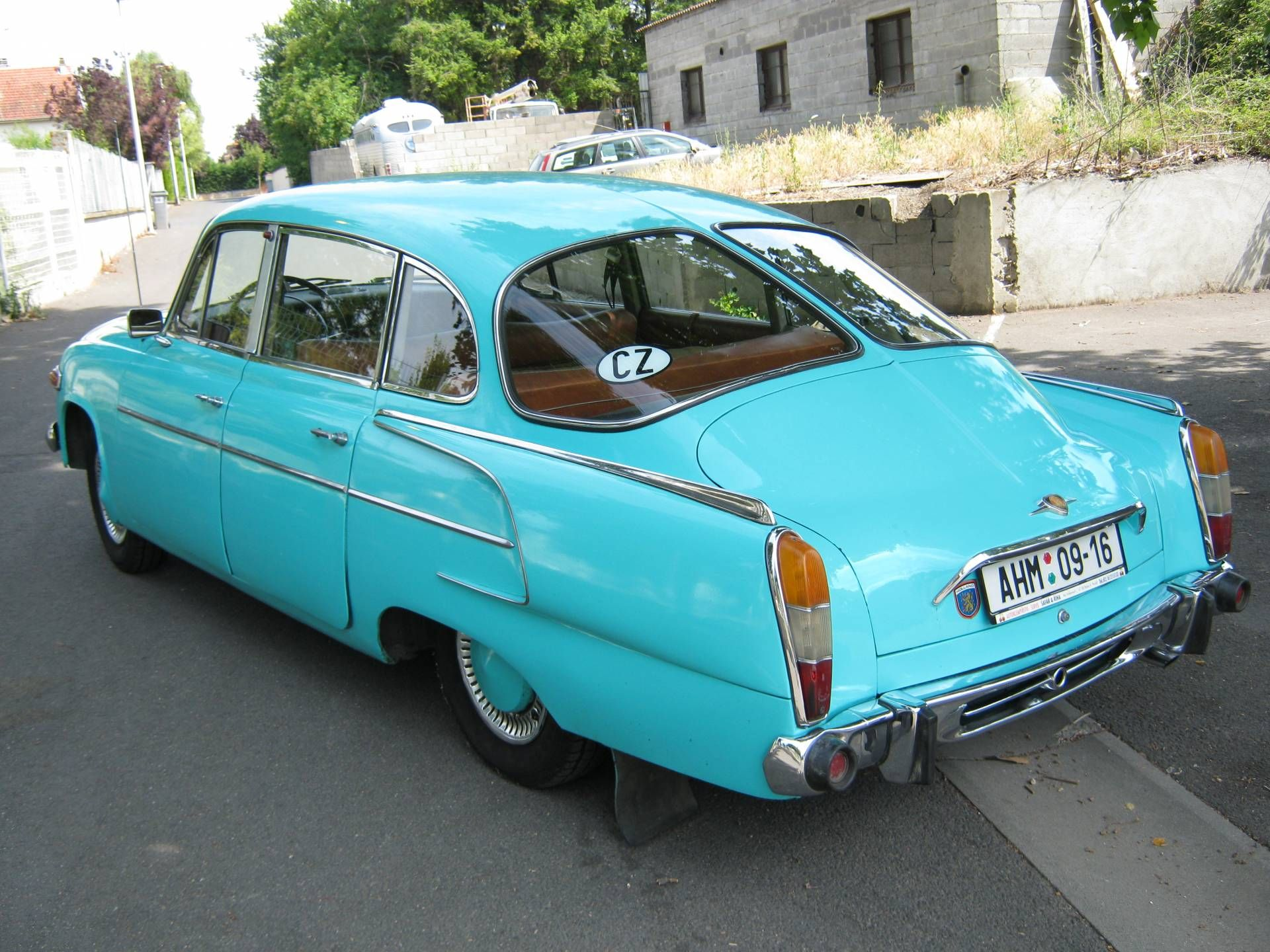 Tatra 603 Tatraplan (1957) | love to own | Pinterest | Cars ...
