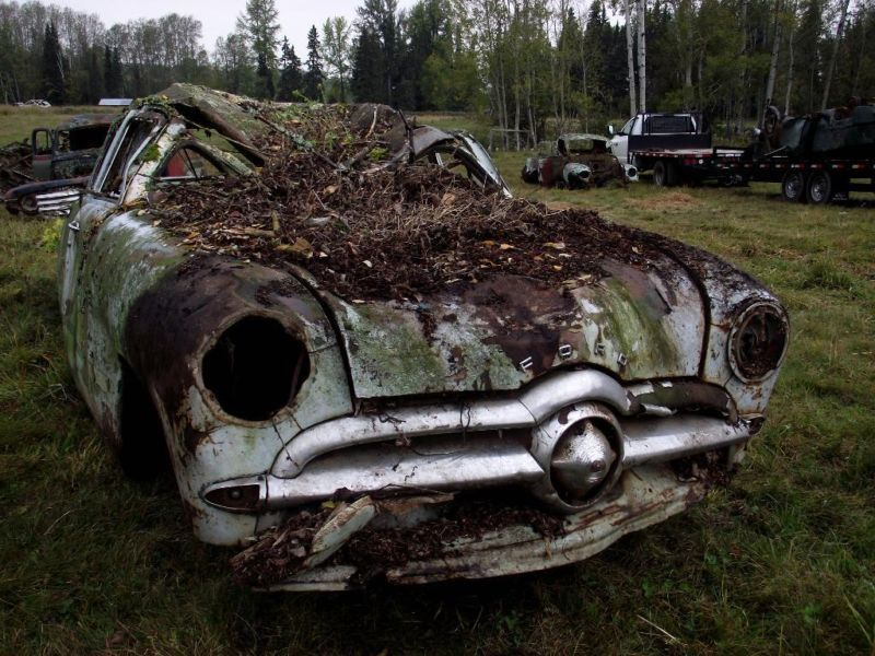 1949 Ford Old fords, Abandoned cars