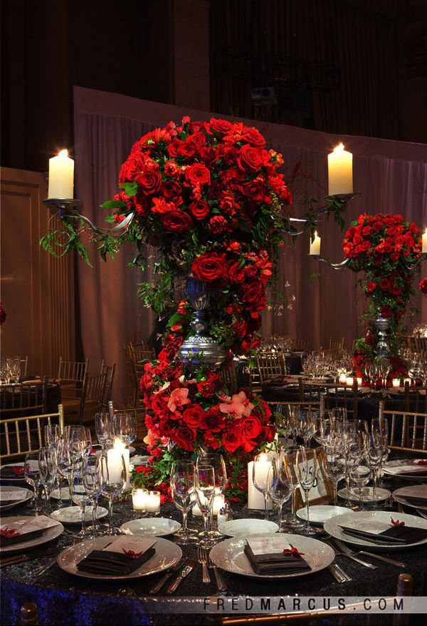15 Unique Ways to Use Red Roses in Your Wedding | Wedding ...