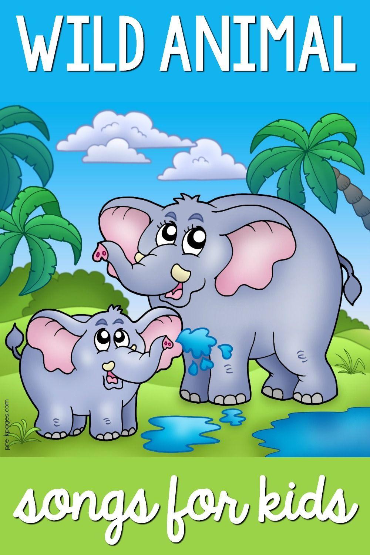 Wild Animal Songs for Preschool Zoo Jungle PreK