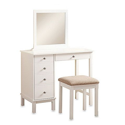 Awesome Good Dimensions: Linon Home Julia Vanity Set