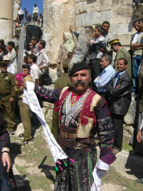 Assyrian (Chaldean) folk outfit. Northern Iraq.