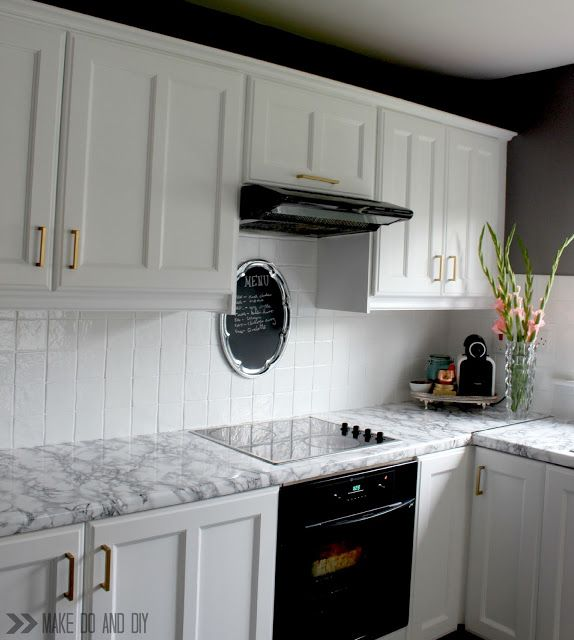 Removing And Replacing A Contact Paper Or Self Adhesive Vinyl Counter Top Does It Damage The Counter H Diy Kitchen Countertops Rental Kitchen Diy Countertops