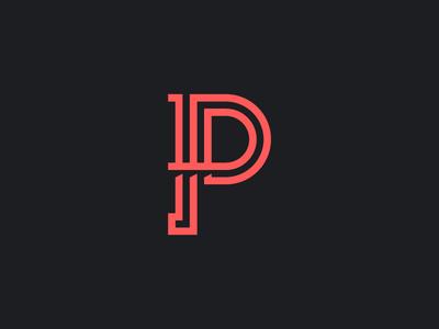 The Letter P P Logo Design Graphic Design Logo Lettering Design