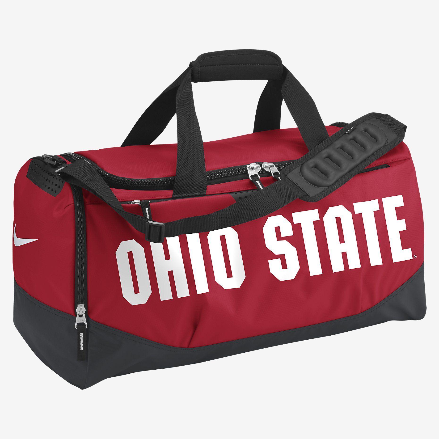 8384e3b3684b Nike Team Training Max Air (Ohio State) (Medium) Duffel Bag. Nike ...