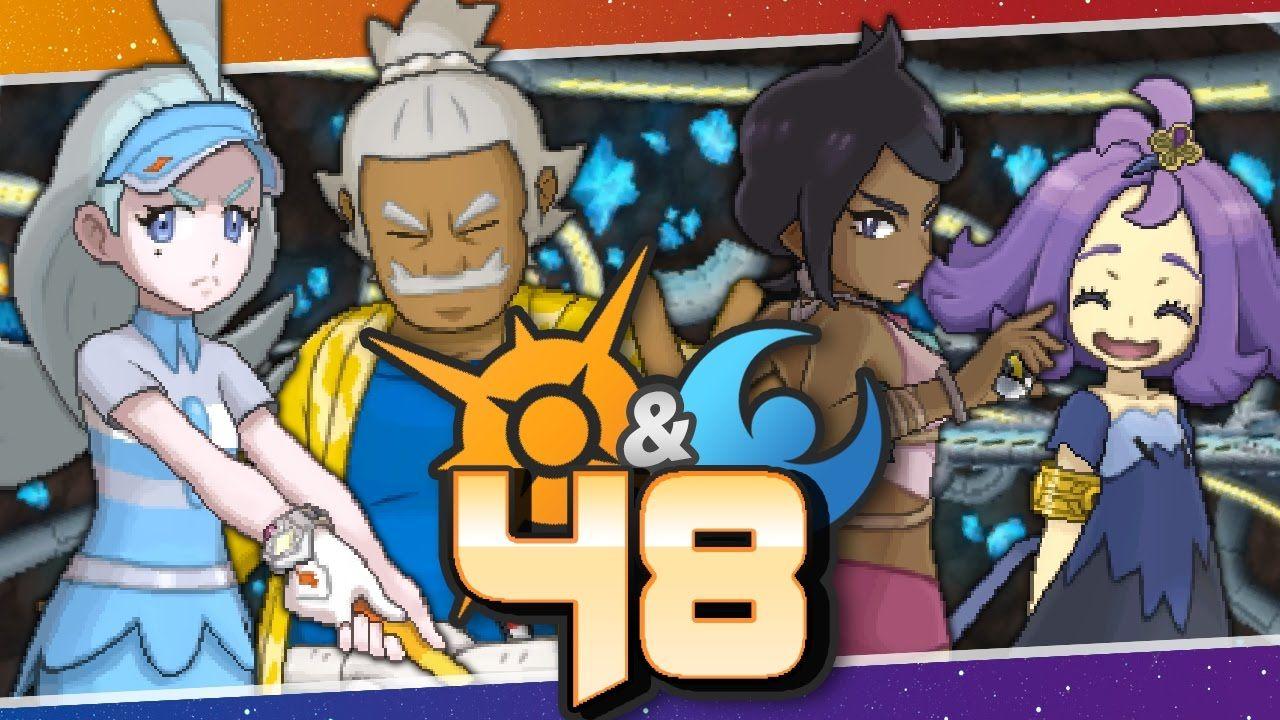 pokémon sun and moon episode 48 alola s elite four