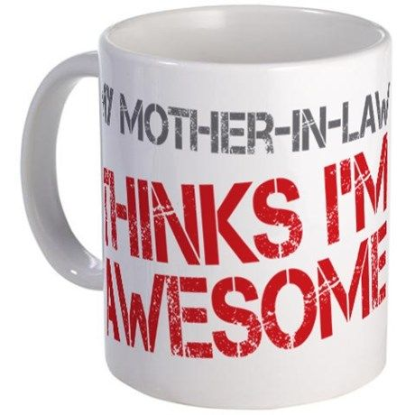 Mother In Law Awesome 11 Oz Ceramic Mug