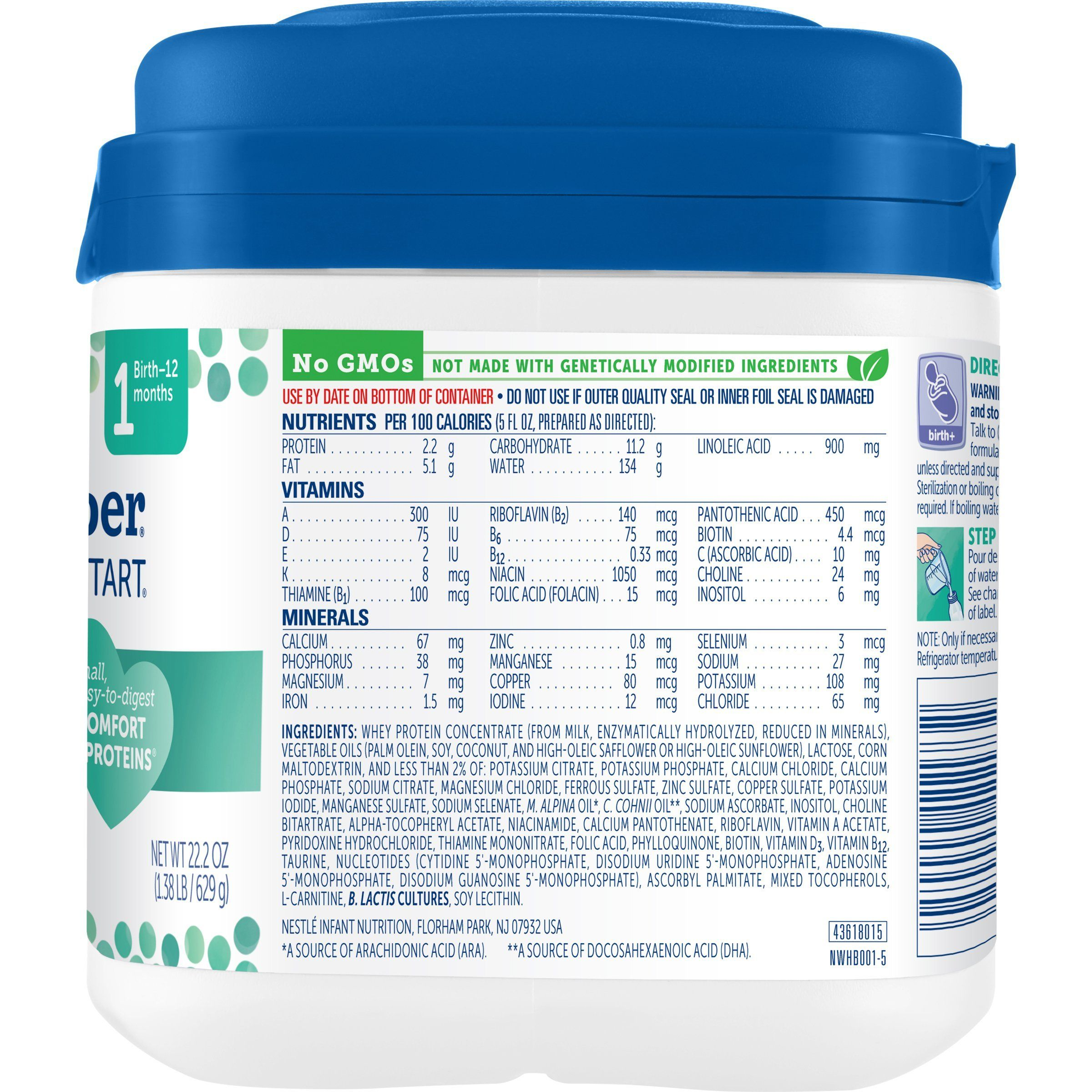 Gerber good start gentle for supplementing nongmo powder