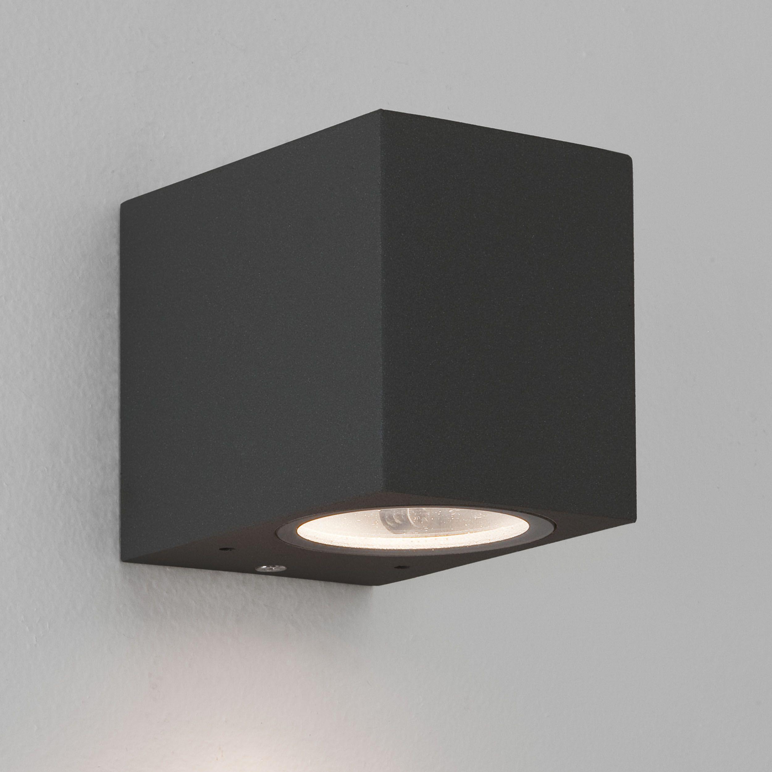 Astro chios black wall light external front pinterest