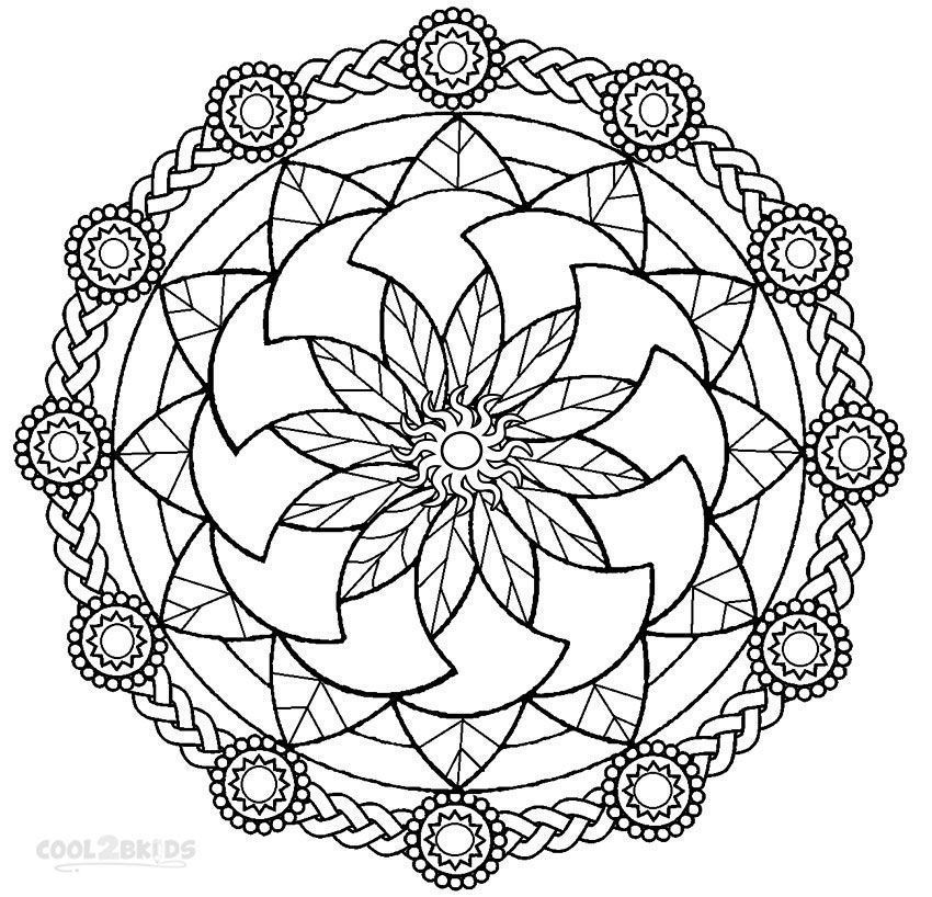 Mandala Coloring Pages Are One Of The Most Creative Online Printable Activity Sheets For Kids