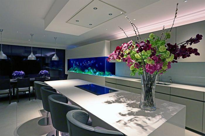 Warum sollten sie das interieur mit aquarium einrichten for Aquarium modern einrichten