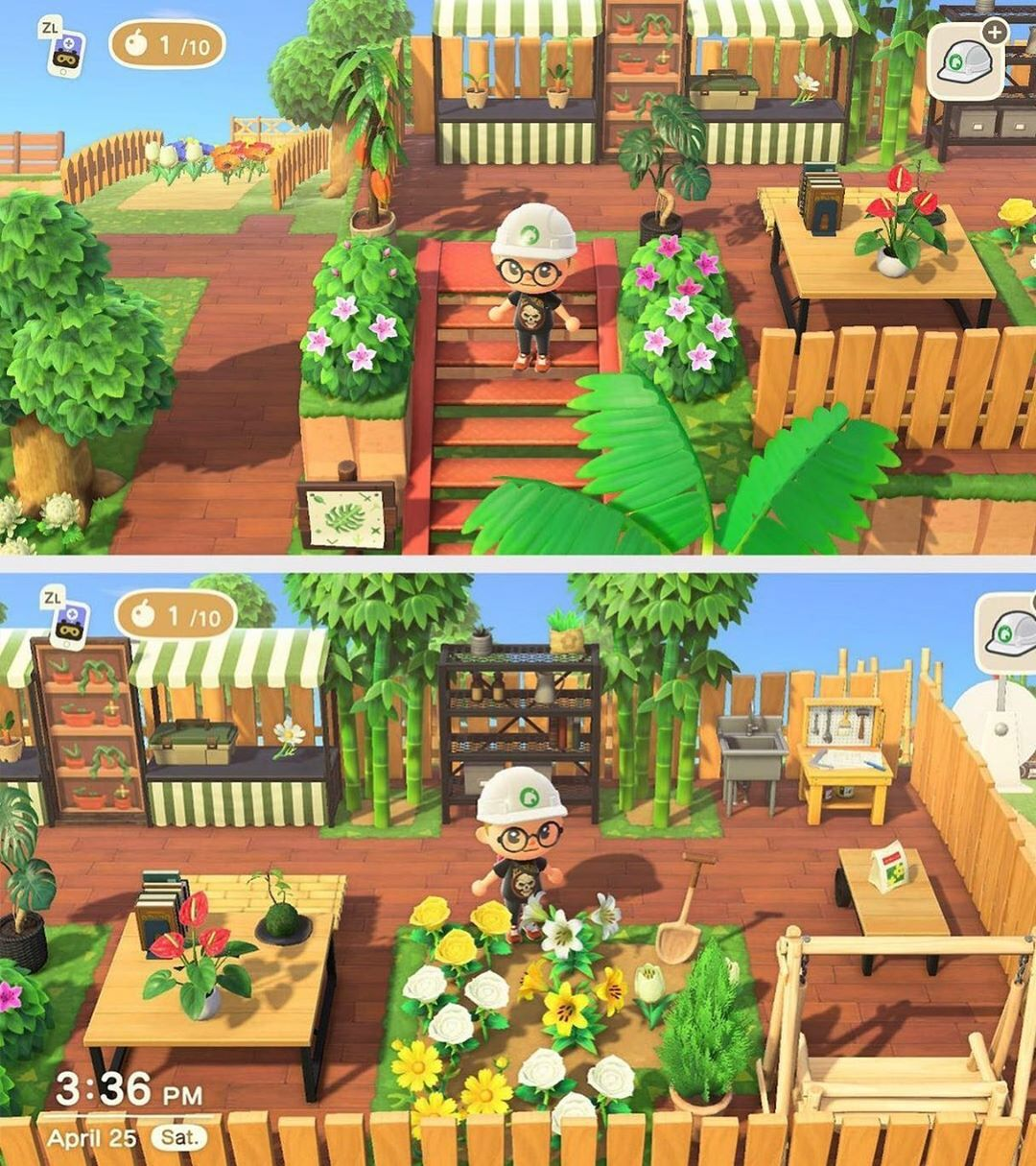 Animal Crossing Inspiration On Instagram Greenhouse Upstairs By Deoxyribow Reddit Animalcr Animal Crossing New Animal Crossing Animal Crossing Game