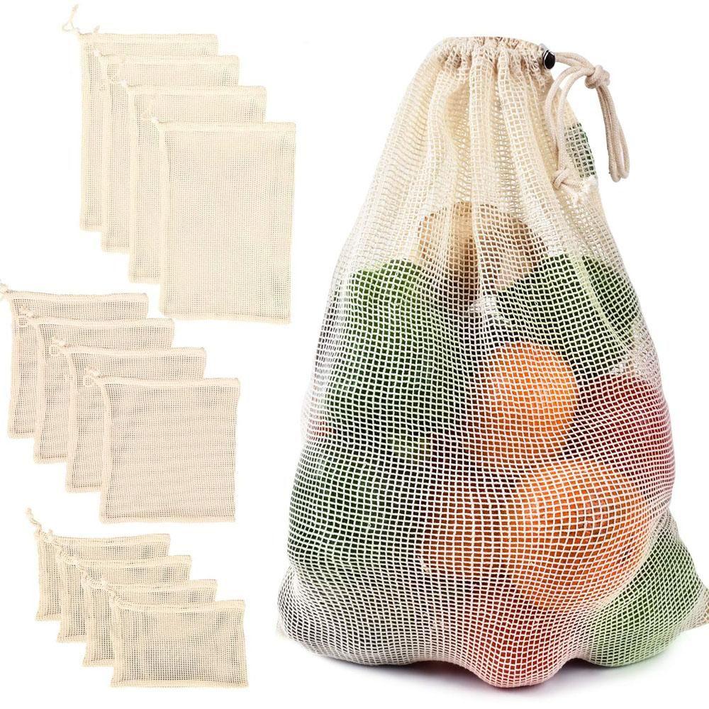 Ecoegg Cotton Mesh Vegetable Bags In 2020 Vegetable Bag Produce Bags Reusable Produce Bags