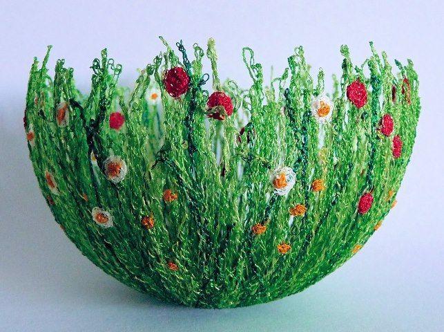 crochet bowl - utterly amazing