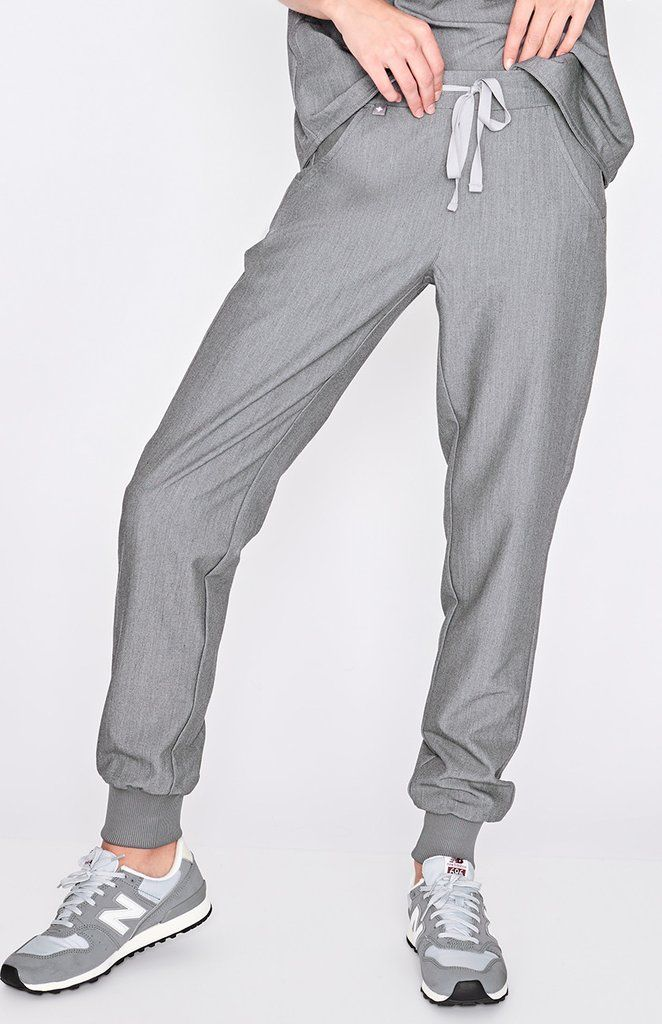 3c77eac38ef These sleek, stylish graphite jogger scrub pants are super comfy but have a  streamlined, urban-inspired feel and functionality to keep up with your  24/7 ...