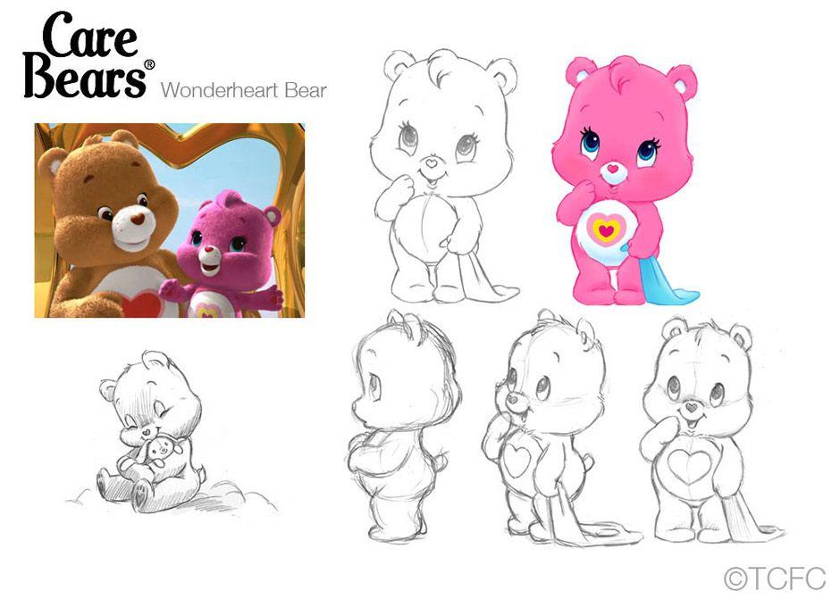 06cbwonderheart.jpg (940×671) Bear coloring pages, Care