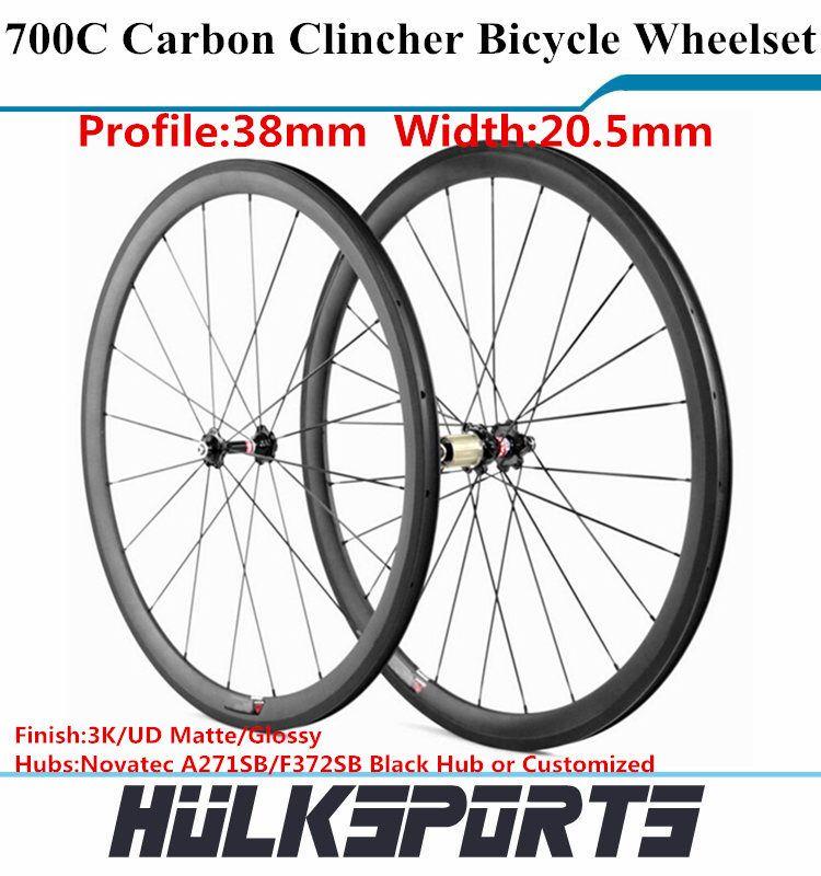 700C 24//38//50//60//88mm Carbon Wheels Road Bike//BicycleWheelset  Shimano//Campay