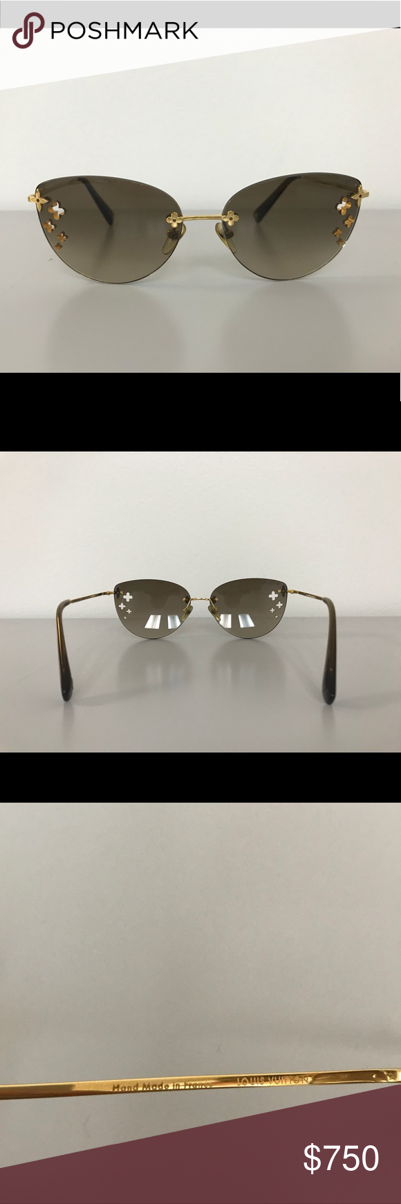 a281b1b5200f Louis Vuitton Desmayo Cat Eye Sunglasses Authentic Louis Vuitton Desmayo  Cat Eye Sunglasses Z0051U In mint condition. Box is not included