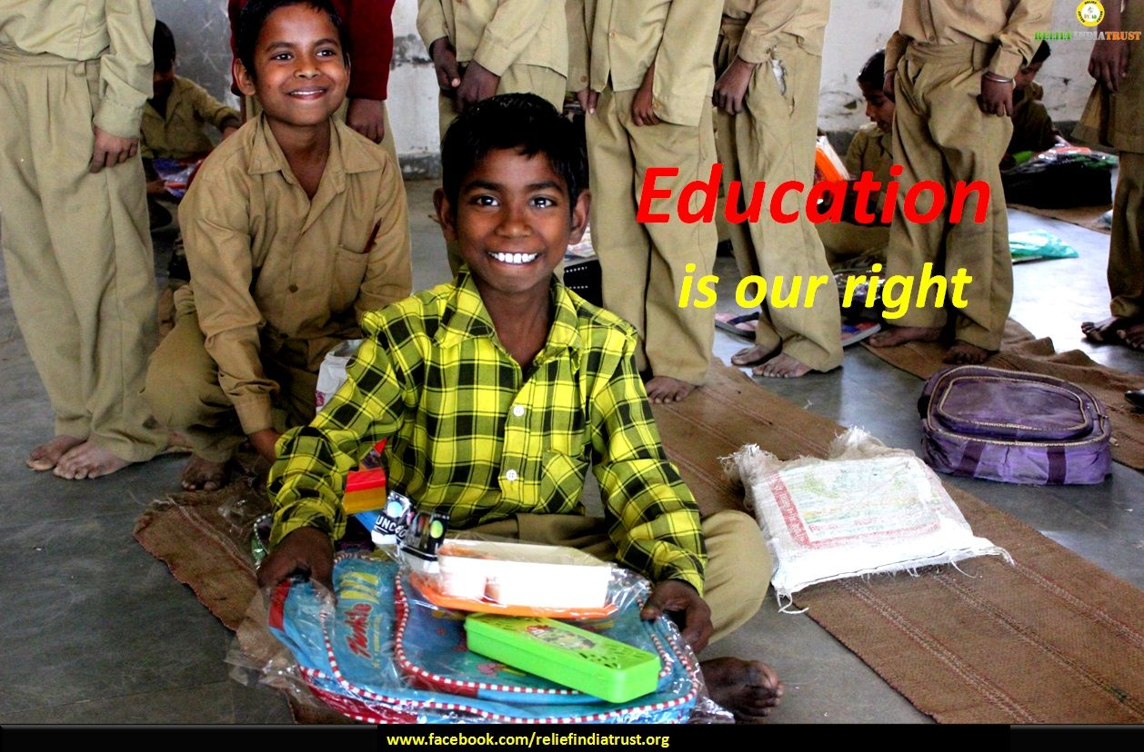 Your small Contribution can Educate needy children and