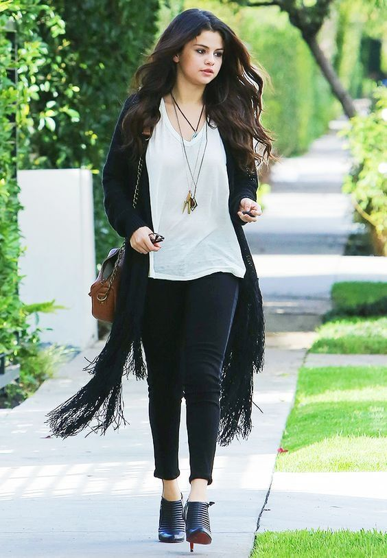 Selena Gomez Street Style 2012