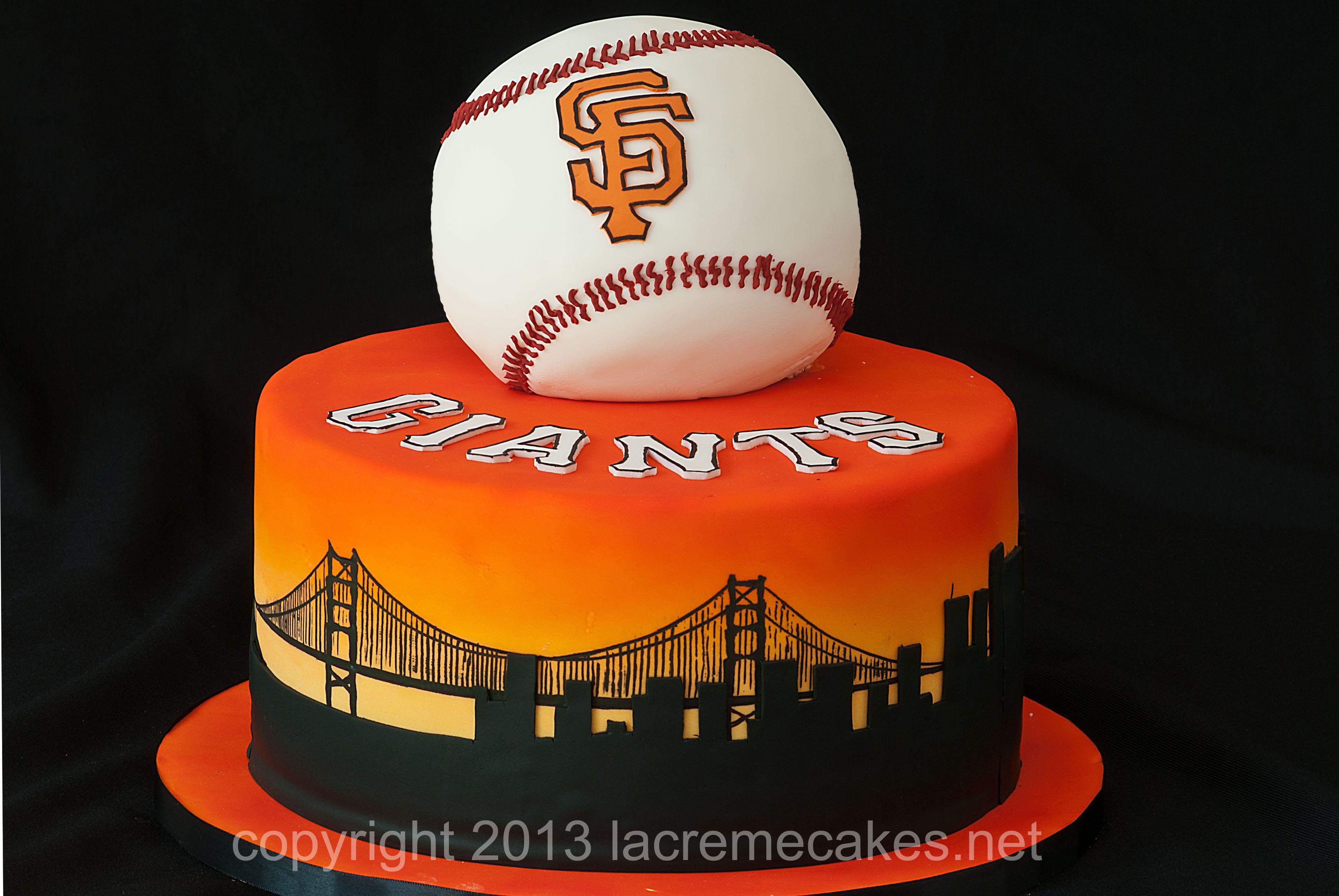 Sensational San Francisco Giants Grooms Cake Giant Cake San Francisco Funny Birthday Cards Online Elaedamsfinfo