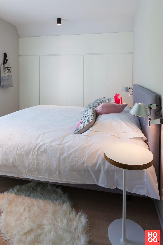 moderne witte slaapkamer | slaapkamer design | bedroom ideas ...
