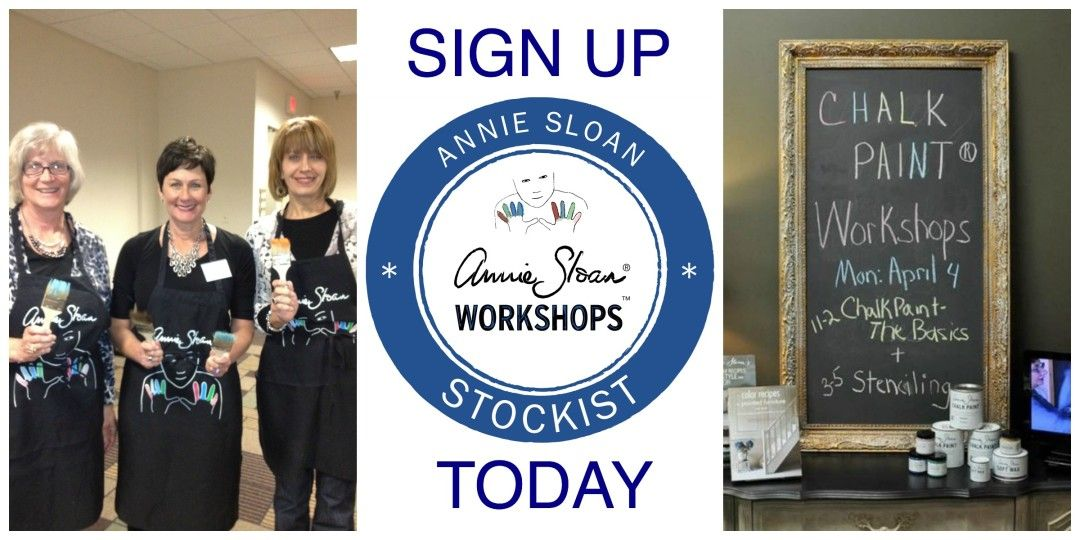 Join us for Chalk Paint® Workshops! for more info and register: www.rachelpugliese.com