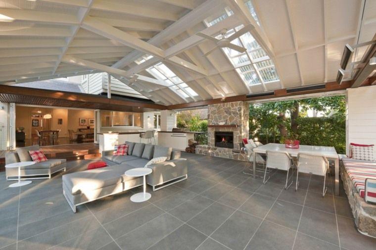 Terrasses et jardins  54 salons de jardin et canapés douillets - salon d angle de jardin