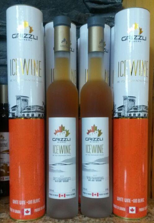Ice Wine Grizzly Winery West Kelowna Wine Bottle Wine