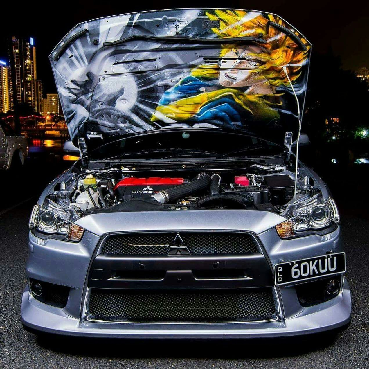 Mitsubishi Sports Car List: Goku Mitsubishi Lancer Evo X