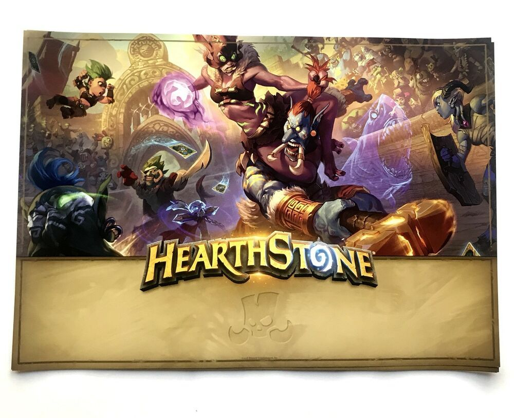 blizzcon 2018 hearthstone poster