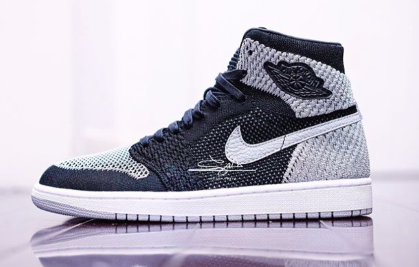 Detailed Look At The Air Jordan 1 High Flyknit Shadow