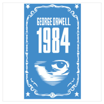 1984 - George Orwell Poster