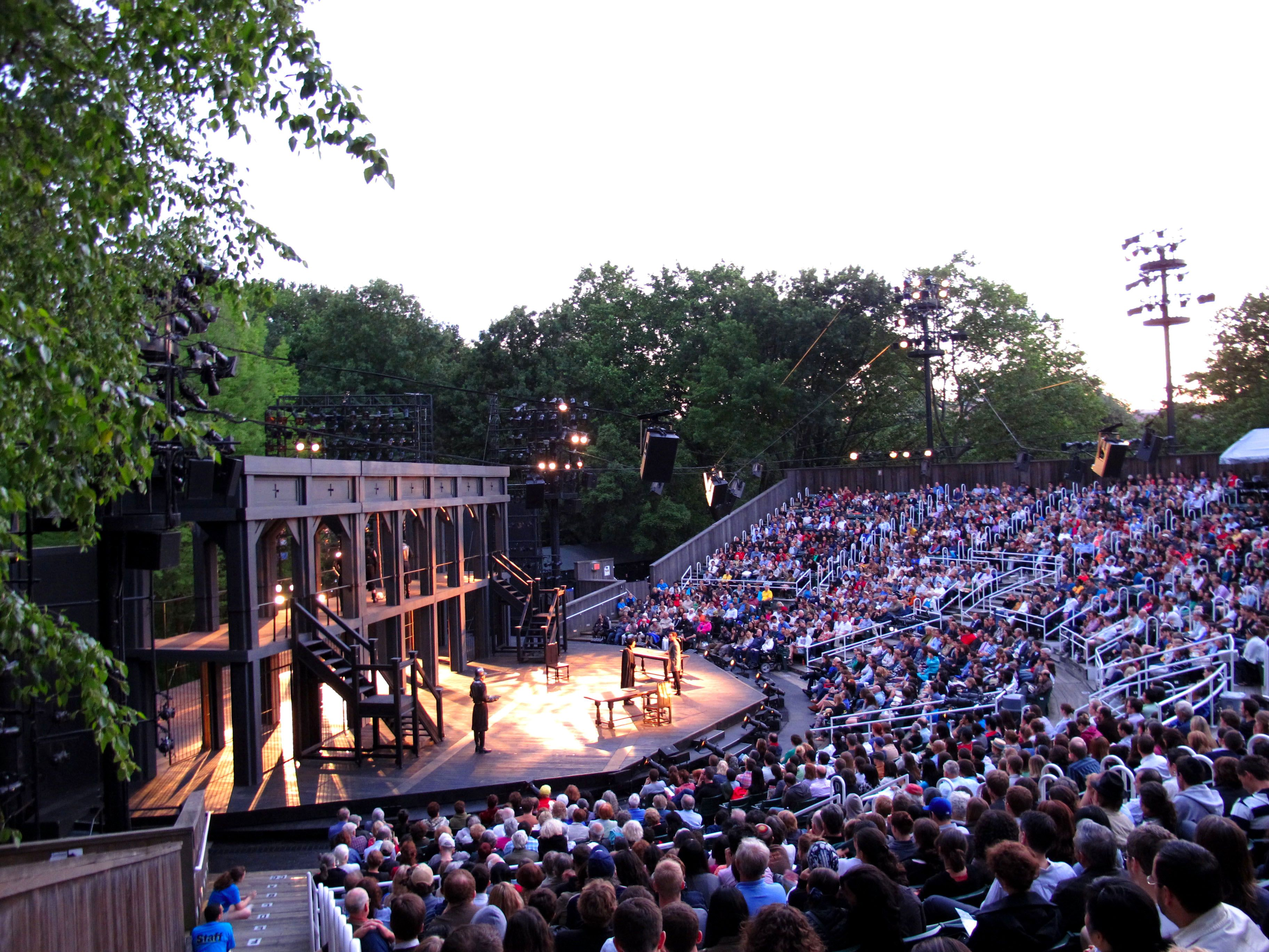 Shakespeare in the park Buffalo