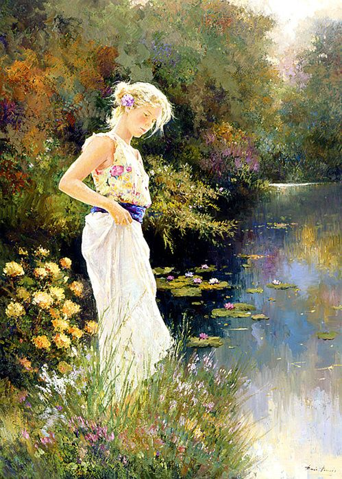 Jose Miguel Roman Frances. Spain painter. in 2020 (With