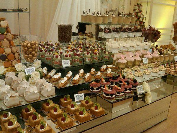 Postres individuales para boda buscar con google - Mesa de dulces para bodas ...