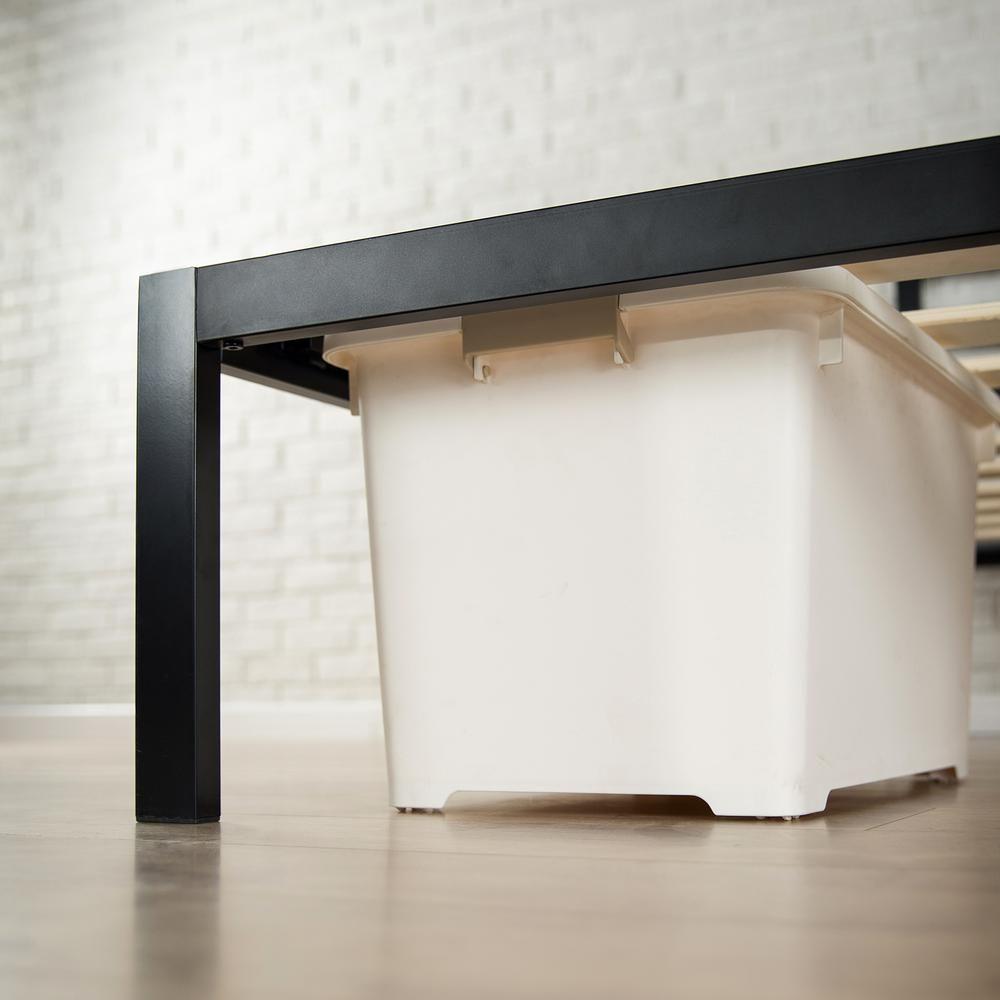Zinus Modern Studio 14 Inch Platform 1500 Metal Bed Frame Mattress Foundation