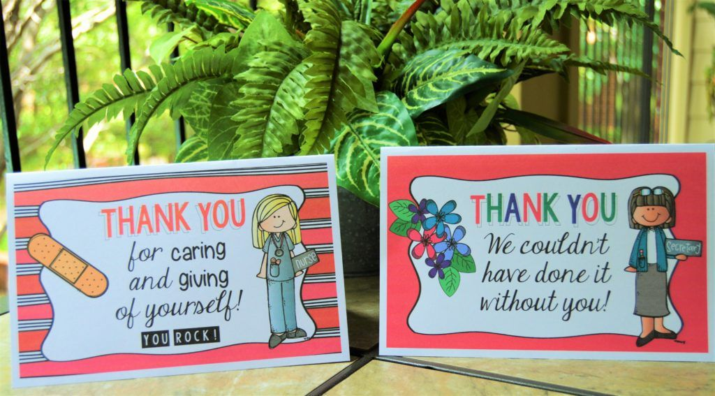 thank you cards for support staff  lead joyfully  thank