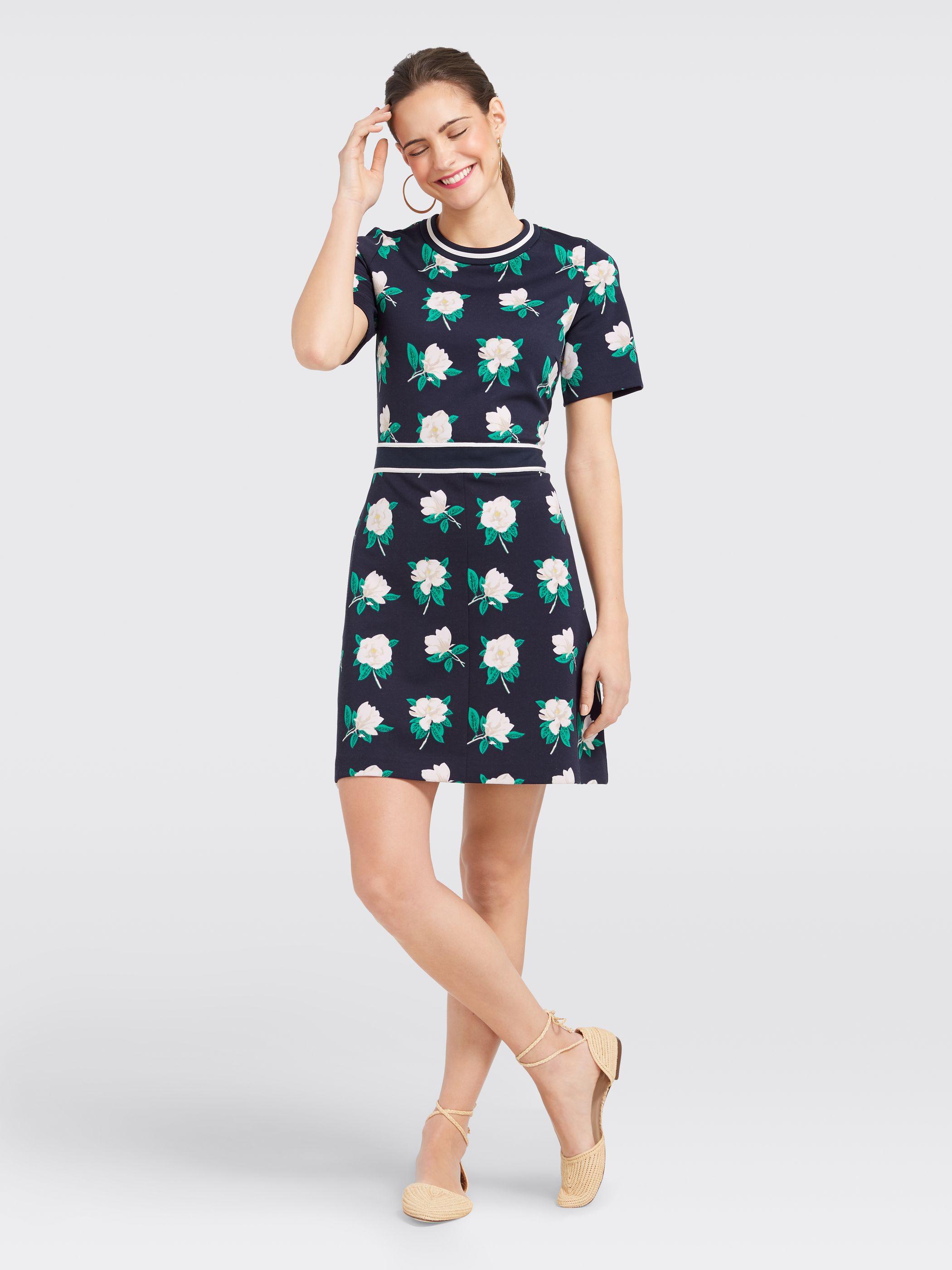 cad7d1fd8f087 Draper James - Magnolia Persley Ponte Dress   Products   Dresses ...