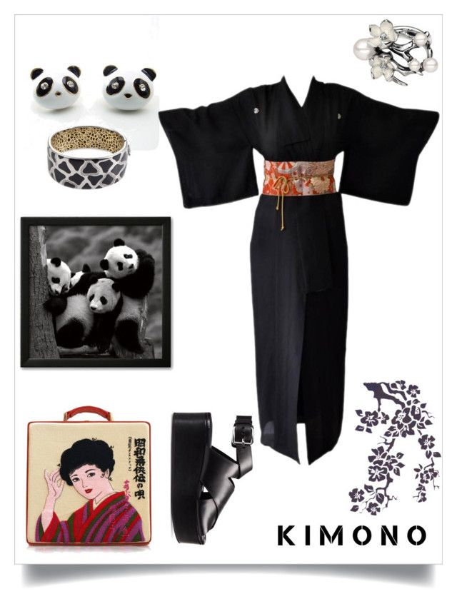 """""""Japanese Inspired"""" by freida-adams ❤ liked on Polyvore featuring Olympia Le-Tan, Roberto Coin, Alexander Wang and Shaun Leane"""